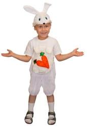Фото Костюм Зайчик с морковкой детский