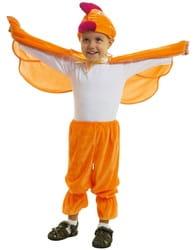 Фото Костюм Цыпленок с крыльями детский