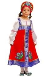 Фото Костюм Русская красавица Любаша детский
