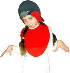 Фото Костюм Снегирь с пелеринкой детский