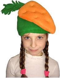 Фото Шапочка Морковь детская