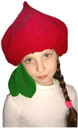 Фото Шапочка Свекла детская