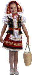 Фото Костюм Красная шапочка нарядная детский