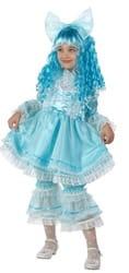 Фото Костюм Кукла Мальвина (с париком) детский