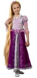 Фото Костюм Принцесса Рапунцель из сказки детский