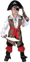 Фото Костюм Капитан пиратов Флинт детский
