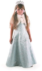 Фото Костюм Снегурочка-жемчужная детский