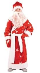 Фото Костюм Деда Мороза из искусственного меха детский