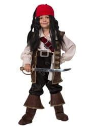 Фото Костюм пират Капитан Джек Воробей детский