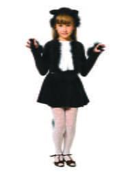 Фото Костюм Кошечка черная детский
