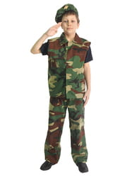 Фото Костюм Военный (милитари) детский