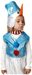 Фото Костюм Снеговик с жилетом детский