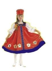 Фото Костюм для девочки Русская красавица детский