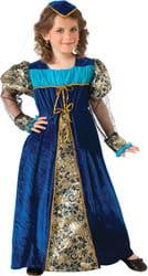 Фото Костюм Принцесса из Камелота (в синем) детский