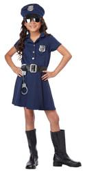 Фото Костюм офицера полиции для девочек детский