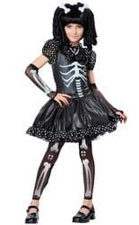 Фото Костюм Скелет в платье детский