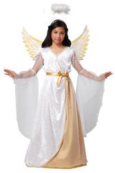 Фото Костюм Золотистый ангел детский
