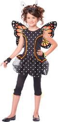 Фото Костюм Бабочка Монарх с крылышками детский