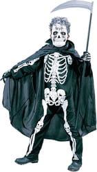 Фото Костюм Ужасный скелет детский