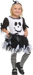 Фото Костюм Призрак (чёрно-белый) детский
