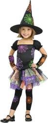 Фото Костюм Ведьма в паутинке детский