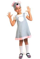 Фото Костюм Мышка в платье детский
