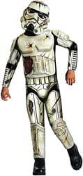 Фото Костюм Штурмовик смерти (Звездные войны) с накладками детский