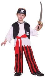Фото Костюм Капитан пиратов со скелетом детский