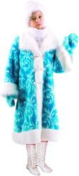 Фото Костюм Снегурочка меховая детский