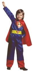 Фото Костюм Супермен (атлас) детский