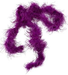 Фото Боа из длинных перьев фиолетовое