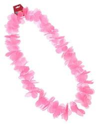 Фото Гавайское ожерелье Цветочки розовое