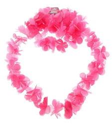 Фото Гавайский набор Цветочки розовый