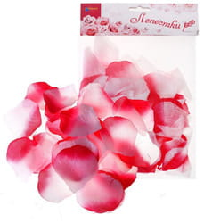 Фото Лепестки роз (фуксия-белый)