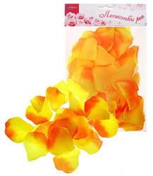 Фото Лепестки роз (желто-оранжевый)