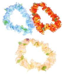 Фото Ожерелье гавайское с листочками (цвета микс)
