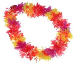 Фото Ожерелье гавайское лепестки многоцветные