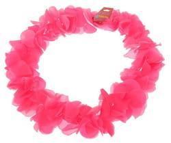 Фото Гавайское ожерелье Лепестки ириса розовое