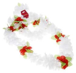 Фото Гавайский набор Цветочки белый