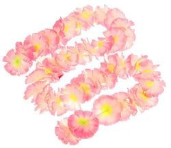Фото Гавайская гирлянда Цветочки светло-розовая