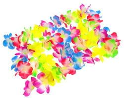 Фото Гавайская гирлянда Цветочки многоцветная