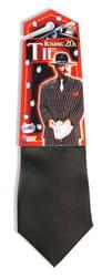 Фото Гангстерский галстук черный