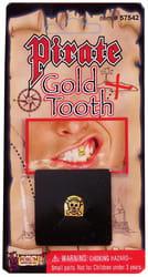 Фото Пиратский золотой зуб