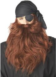 Фото Рыжая борода пирата