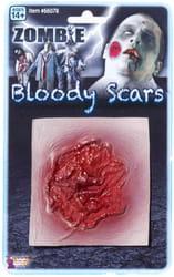 Фото Окровавленный шрам (наклейка)