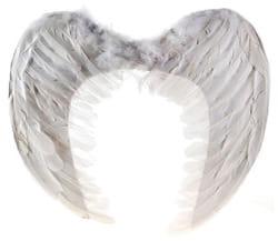 Фото Крылья ангела белые 49 см ? 49 см