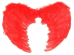 Фото Крылья ангела красные