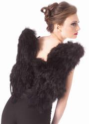 Фото Крылья Ангела Deluxe (черные)
