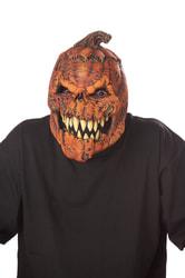 Фото Анимированная маска Тыква на Хэллоуин