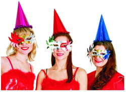 Фото Набор масок карнавальных Медуза 6шт